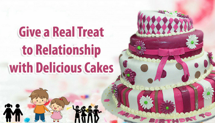 Give a Real Treat to Relationship with Delicious Cakes